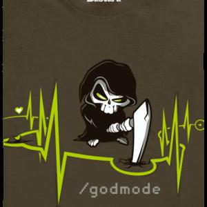 Boží zásah khaki pánské tričko