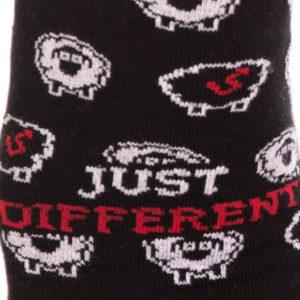 Černá ovce kotníkové ponožky