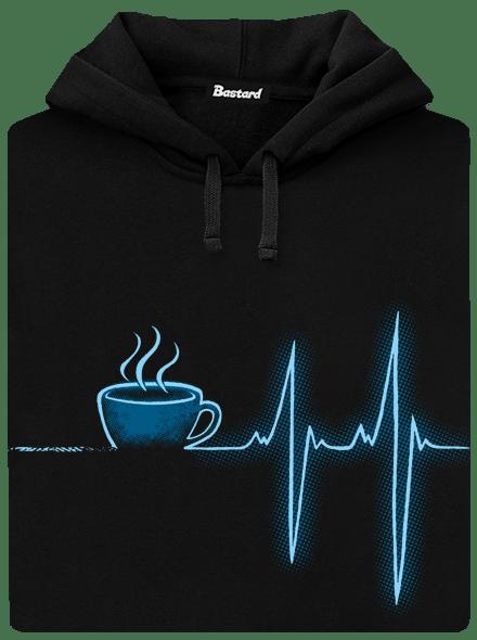 Coffee help pánská mikina