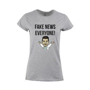 Dámské tričko Fake News for Everyone