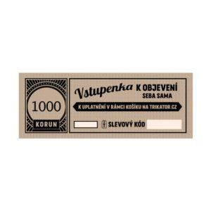 Dárkový kupon 1000Kč