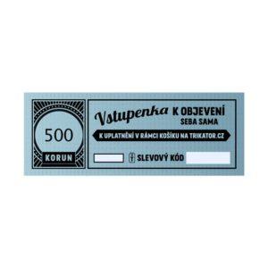 Dárkový kupon 500Kč