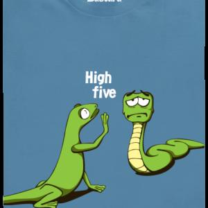 High Five modré pánské tričko