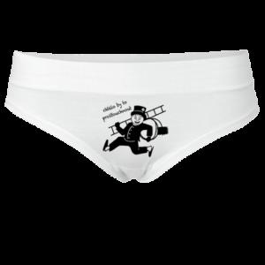 Kominíček - bílé kalhotky