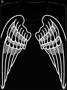 Křídla pánské tričko