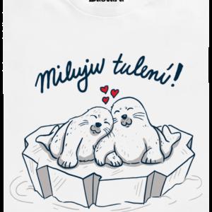 Miluju tulení dětské tričko