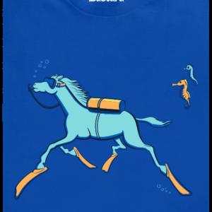 Mořský koník pánské tričko