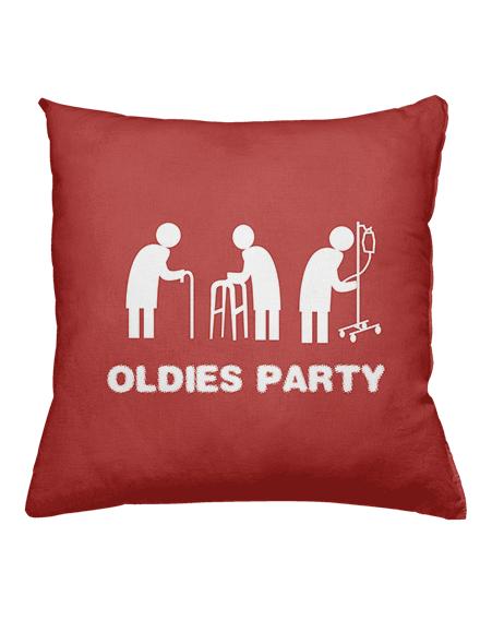 Oldies Party polštář