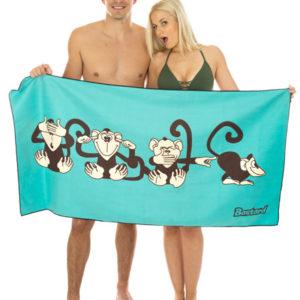 Opice rychleschnoucí osuška