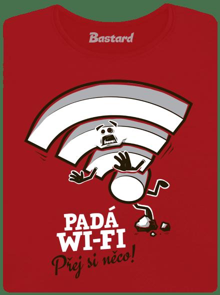 Padá wi-fi dámské tričko
