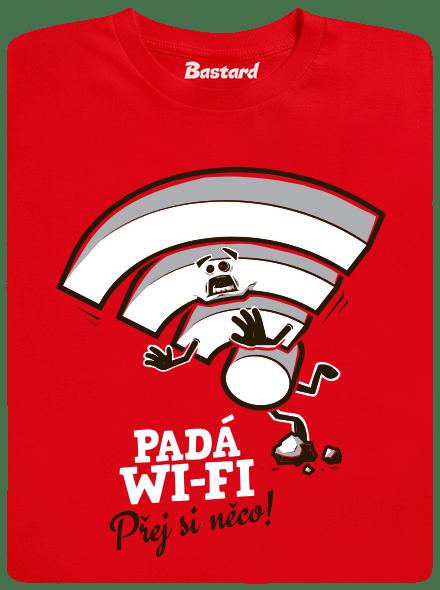 Padá wi-fi dětské tričko