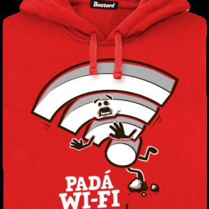 Padá wi-fi pánská mikina