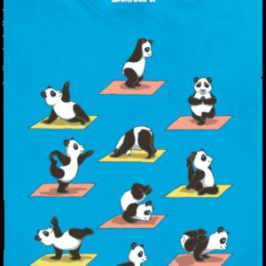 Pandí jóga dětské tričko