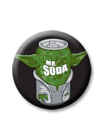 Placka Mr. Soda