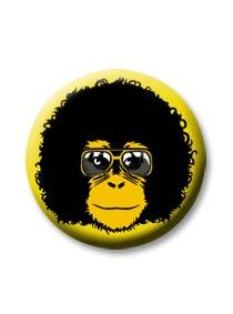 Placka Retro opičák