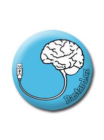 Placka USB mozek