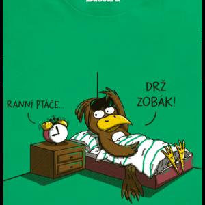 Ranní ptáče dětské tričko