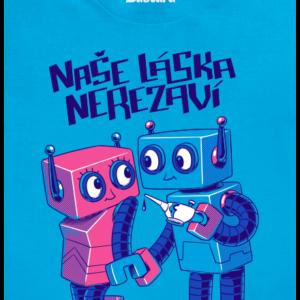 Roboti pánské tričko