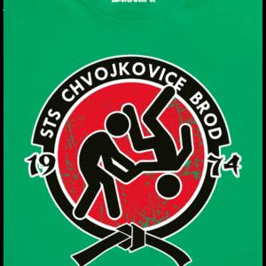 Slušnej oddíl zelené pánské tričko