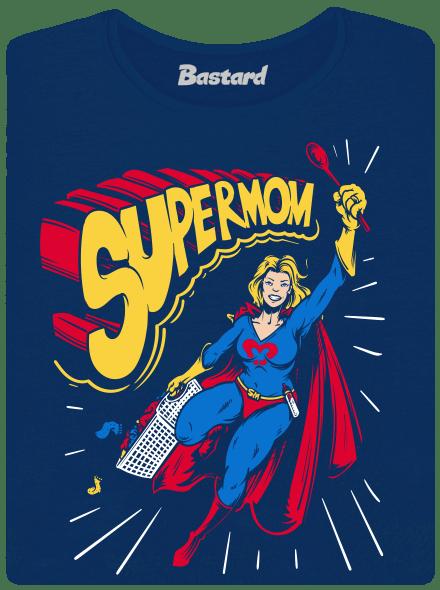 Supermom modré dámské tričko