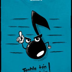 Tón modré pánské tričko