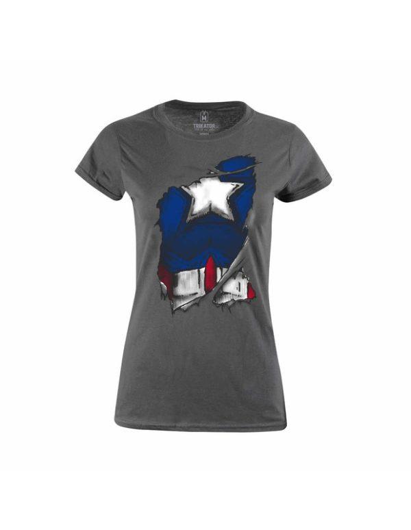 Tričko Captain America Inside S