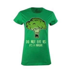 Tričko dámské Broccoli Murder