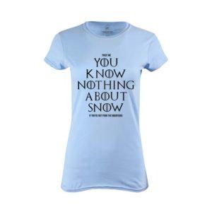 Tričko dámské Dont Know Snow