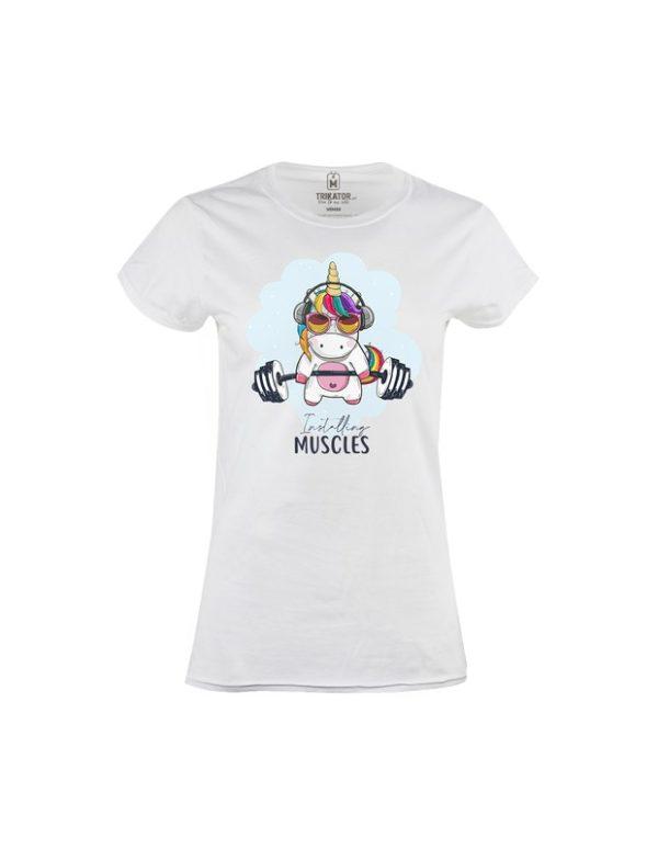 Tričko dámské Gym Unicorn