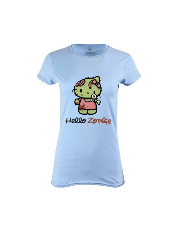 Tričko dámské Hello Zombie