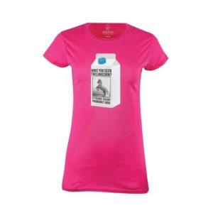 Tričko dámské Hledá se jednorožec