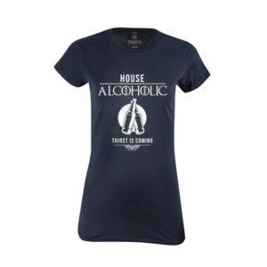 Tričko dámské House Alcoholic