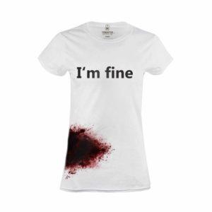 Tričko dámské I´m  Fine
