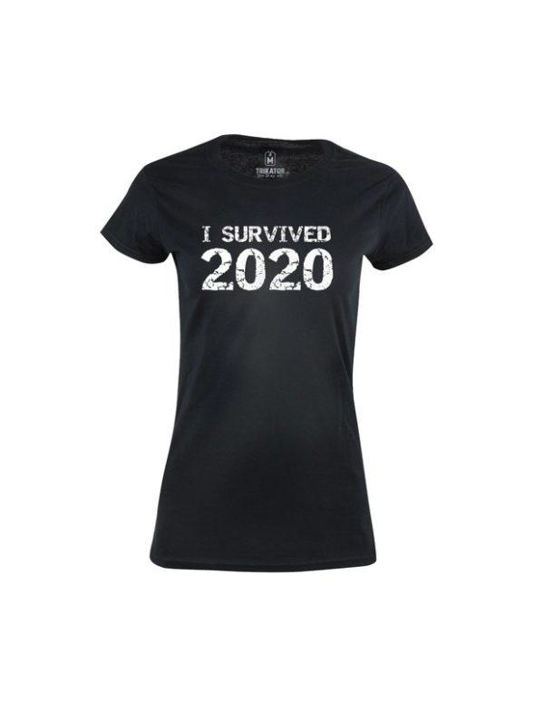 Tričko dámské I survived 2020