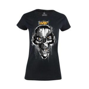 Tričko dámské Lazy Skull