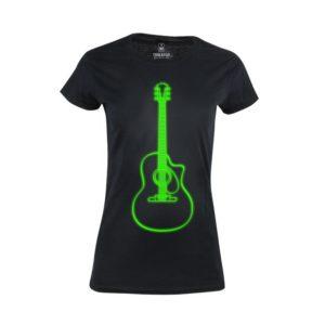 Tričko dámské Neon Guitar