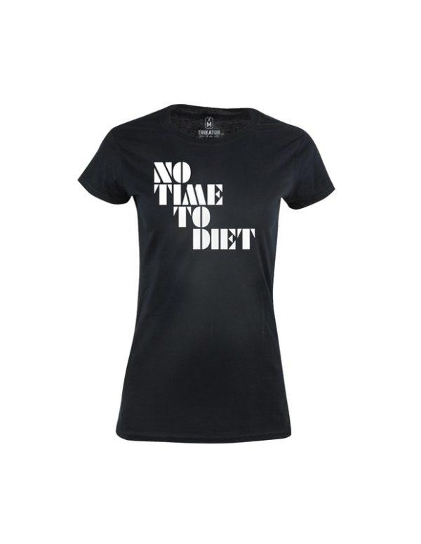 Tričko dámské No Time To Diet