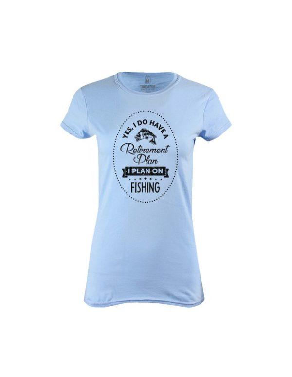 Tričko dámské Pro rybáře