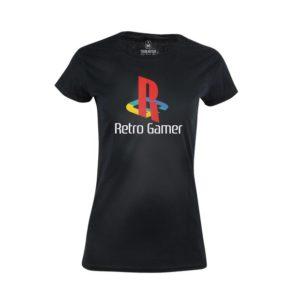 Tričko dámské Retro hráči