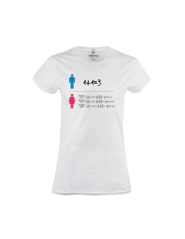 Tričko dámské Rovnice