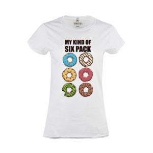 Tričko dámské Six Pack