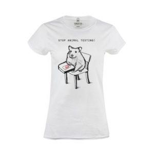 Tričko dámské Stop testům na zvířatech