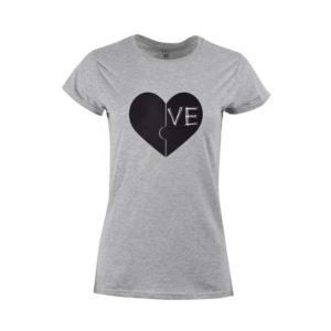 Tričko dámské Two Hearts
