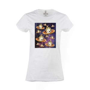 Tričko dámské Vesmírné morče