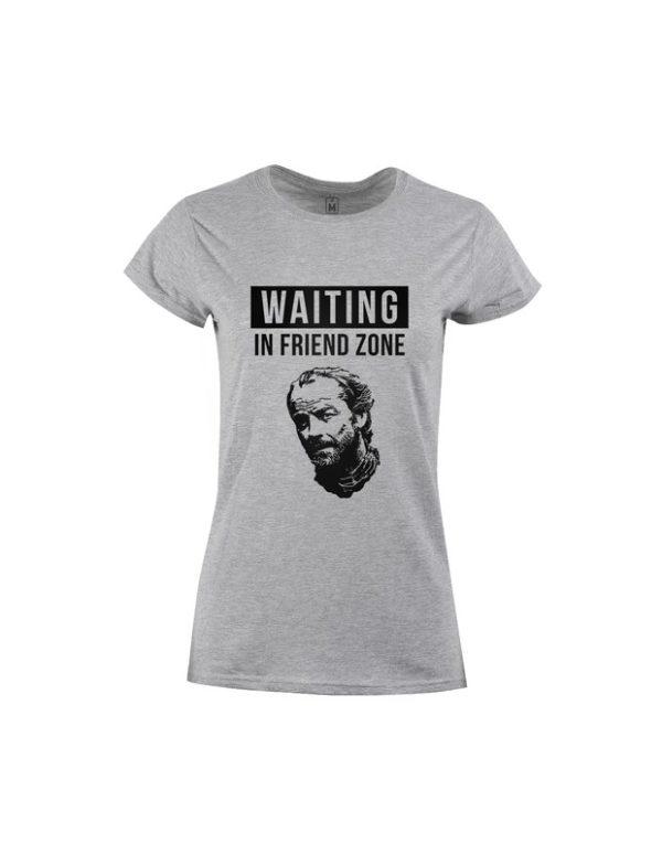 Tričko dámské Waiting in Friendzone