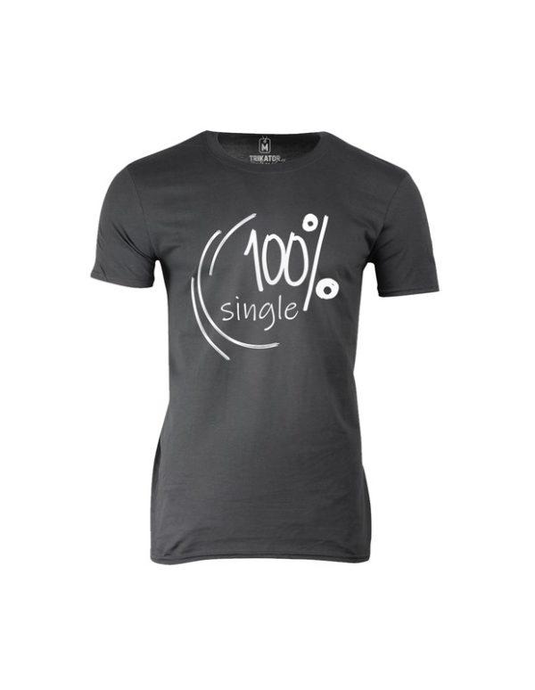 Tričko pánské 100 Single