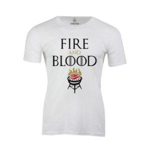 Tričko pánské Fire and Blood