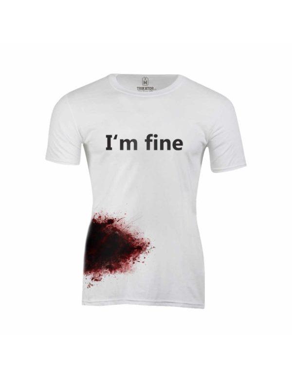 Tričko pánské I´m  Fine