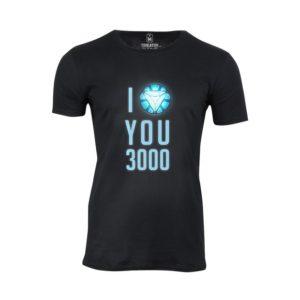 Tričko pánské I love you 3000