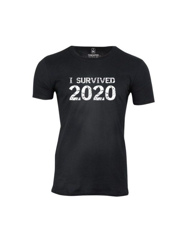 Tričko pánské I survived 2020